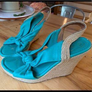 """Corso Como """"Doze"""" espadrille wedge heels"""